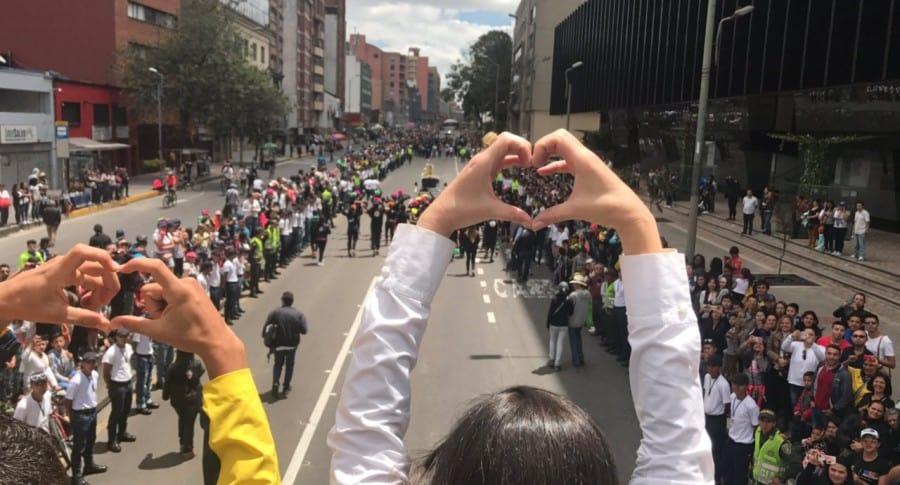 Caminata por la solidaridad