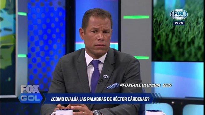 Óscar Córdoba en Fox Gol Colombia