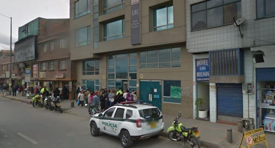 Unida de Reacción Inmediata (URI) de Molinos, Bogotá