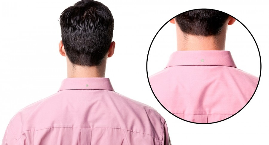Para qué sirven los botones en los cuellos de camisas para hombres