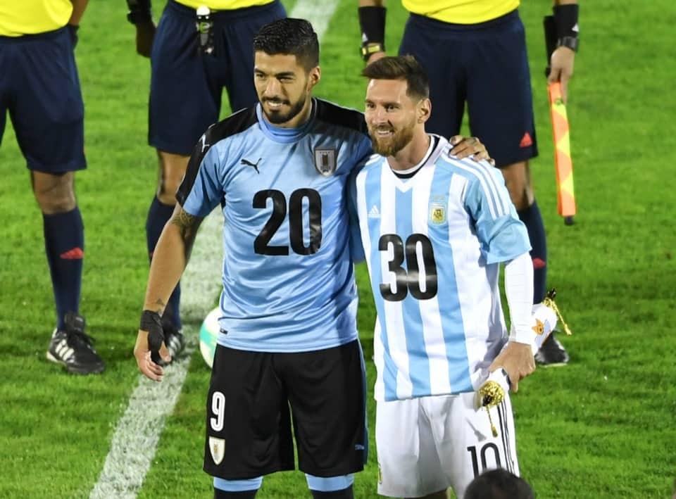 Suárez y Messi