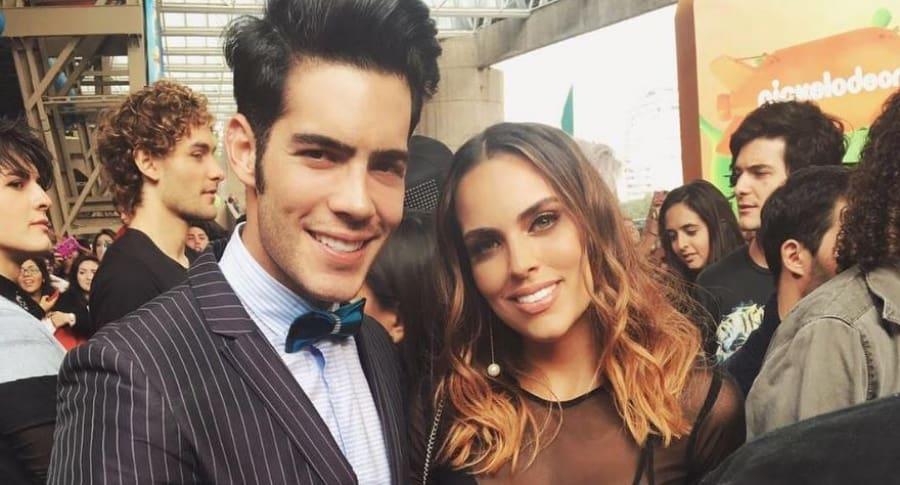 Alexis Meana y Sara Corrales