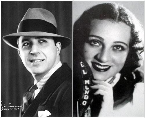 Carlos Gardel y Ada Falcon