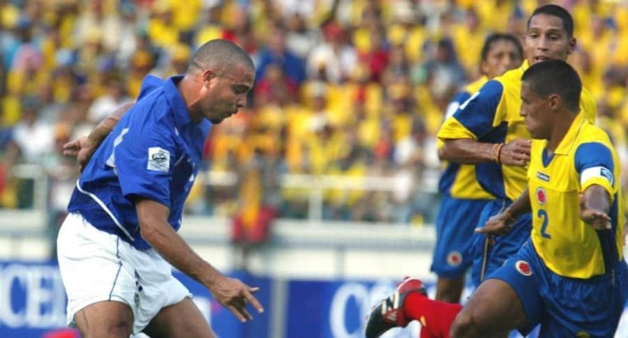 Brasil vs. Colombia, 2003