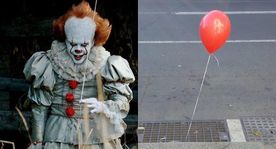 Aparecen globos rojos en calles de Sidney para promocionar película It