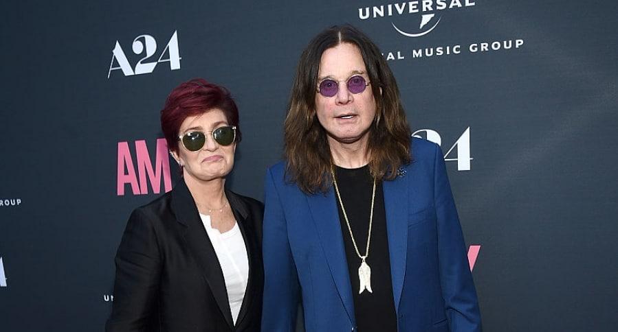 Sharon Osbourne y Ozzy Osbourne