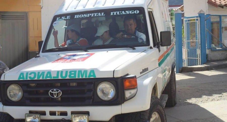 Ambulancia de Ituango