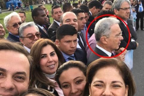 Uribe ve al papa