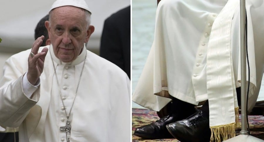 Zapatos papa Francisco