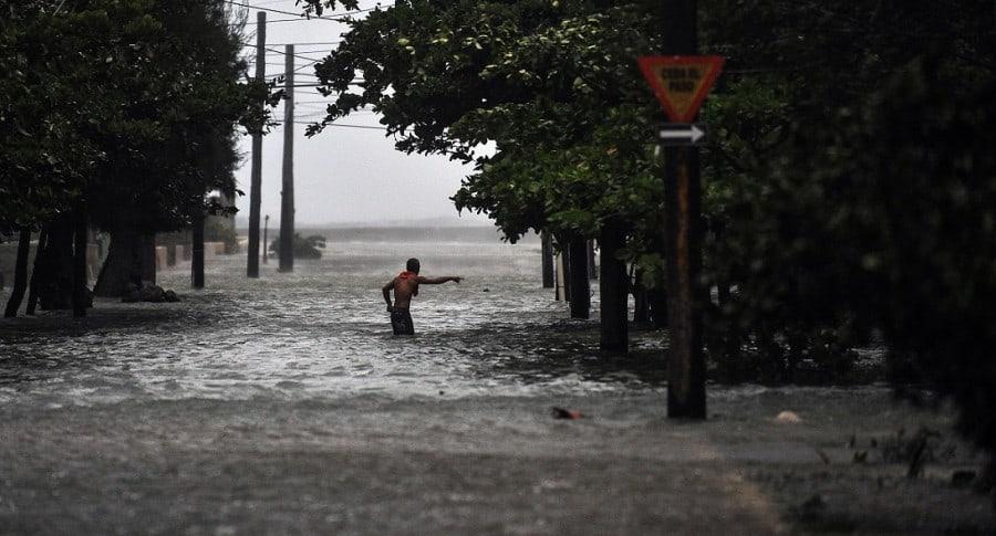 Inundaciones en La Habana