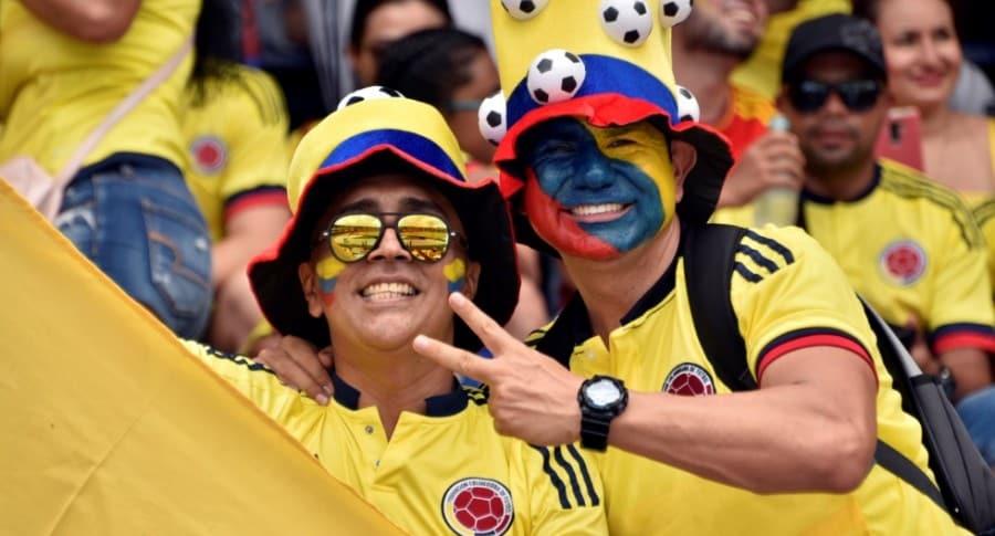 Hinchas de Selección Colombia