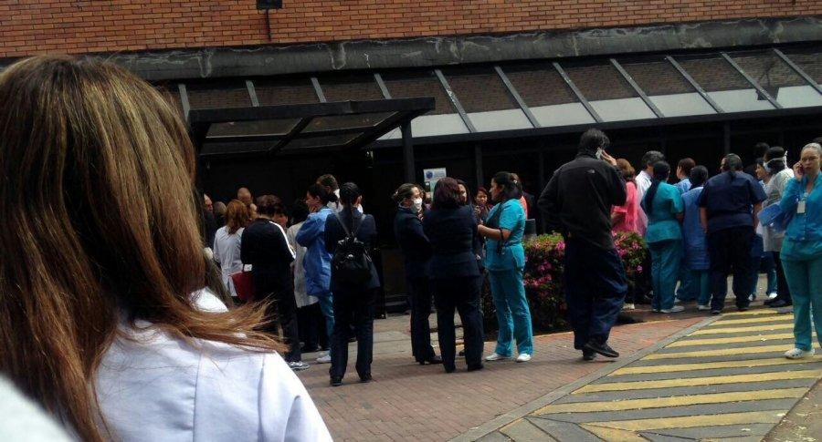 Incidente en Fundación Santa Fe de Bogotá