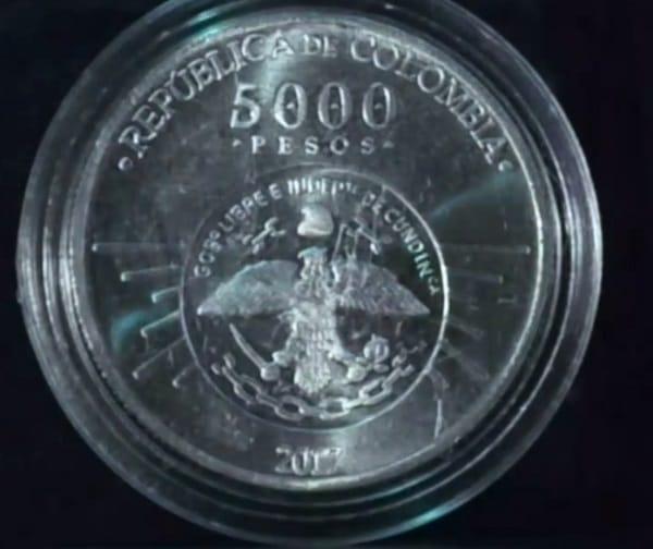 Moneda de 5000 2