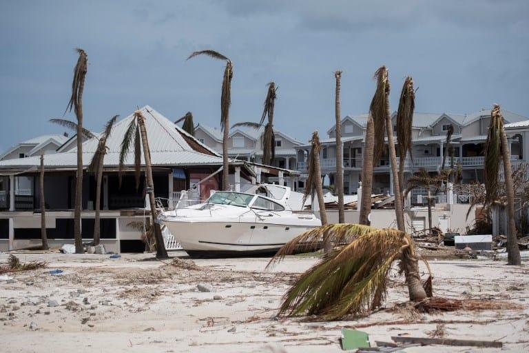 Isla de San Martín tras paso de huracán Irma. Pulzo.