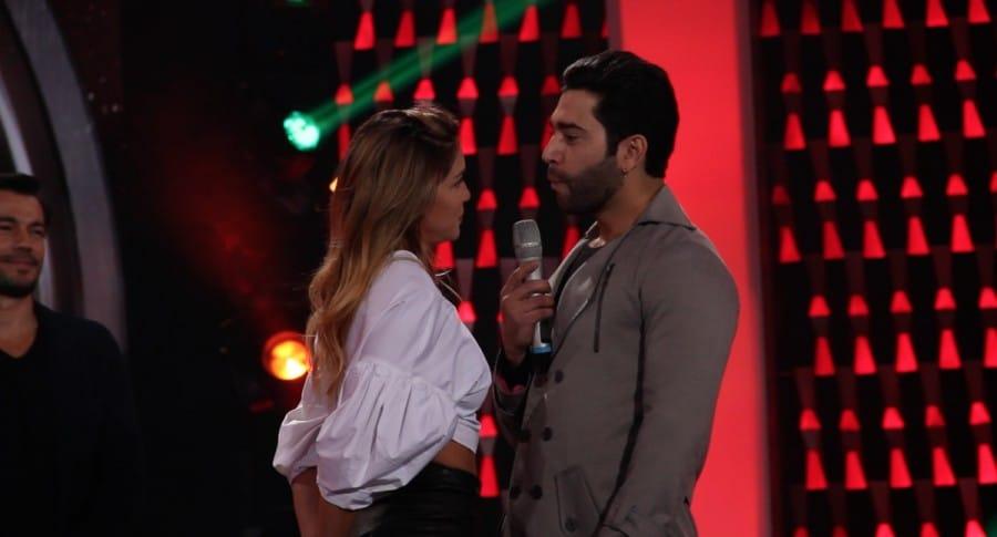 Valentina Lizcano y Edwin Garrido