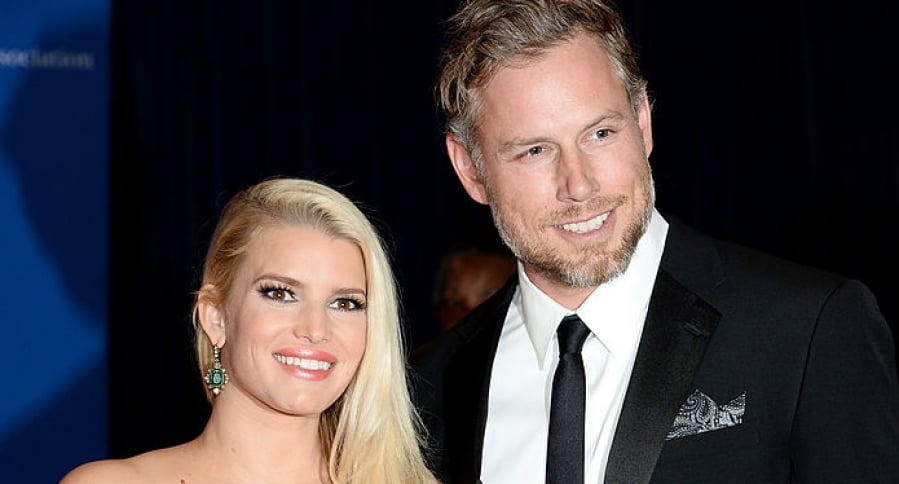 Jessica Simpson y Eric Johnson