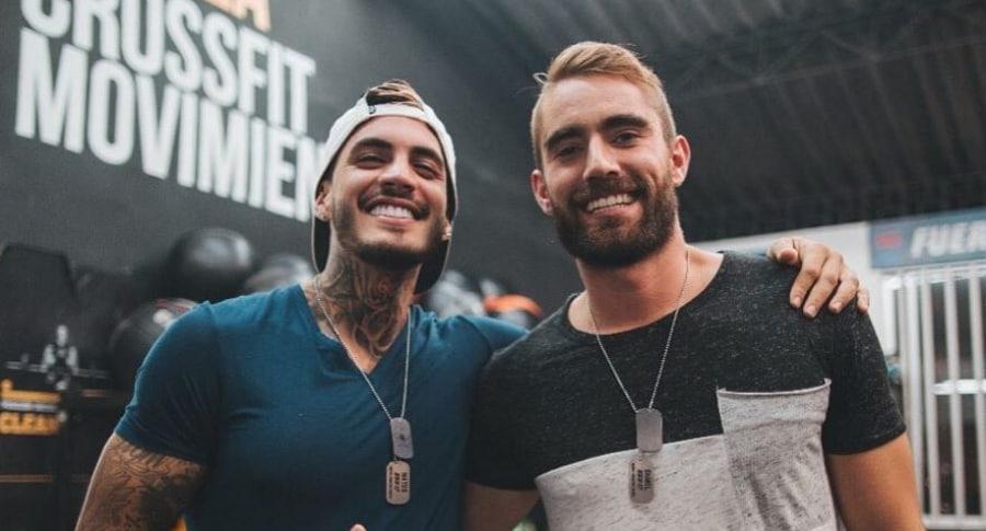 Mateo Carvajal y Daniel Méndez