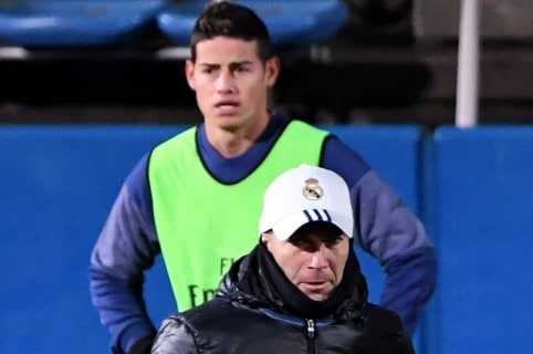 James y Zidane