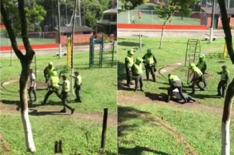 Policías en Pereira
