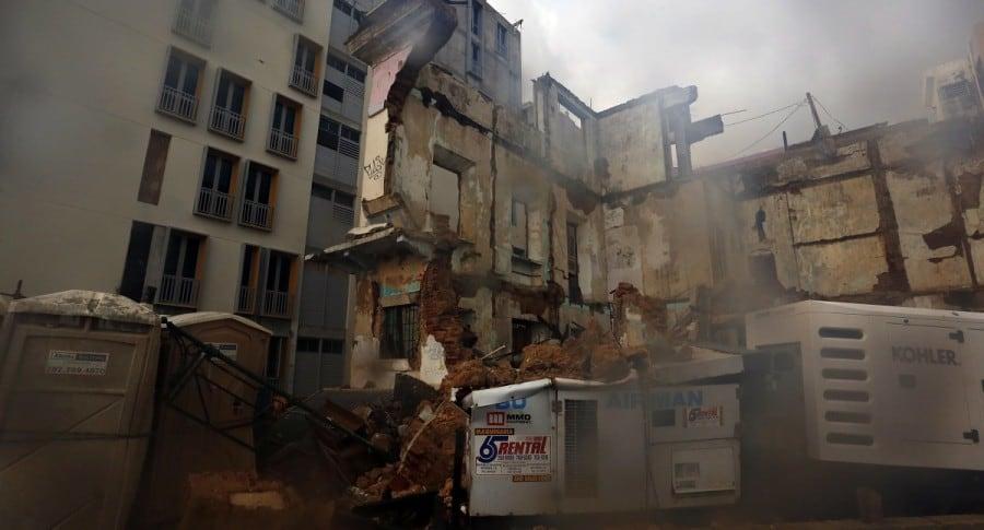 Estragos en Puerto Rico por huracán María