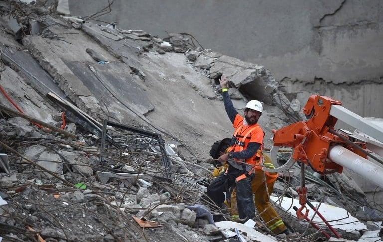 Cuerpos de rescate en México