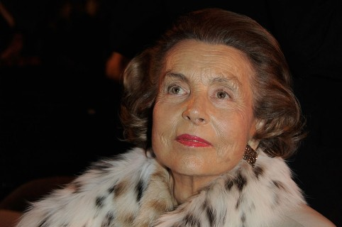 Liliane Bettencourt, mujer más rica del mundo