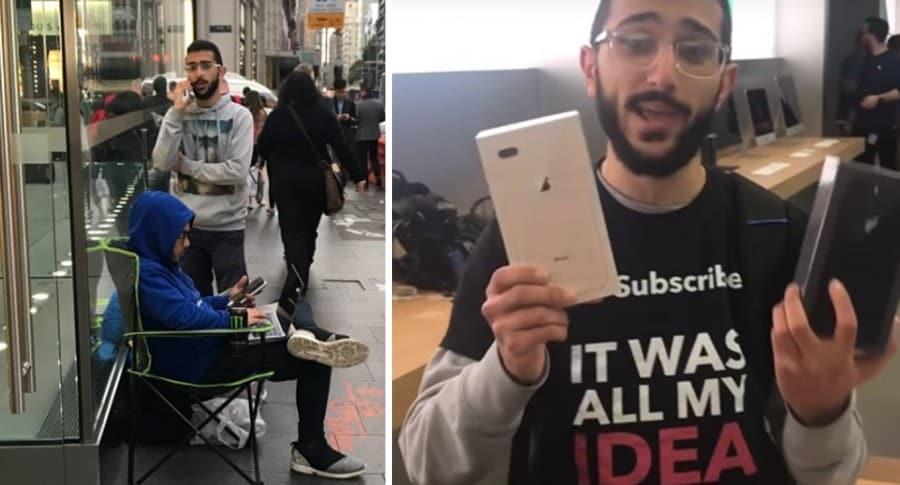 Primer comprador iPhone 8