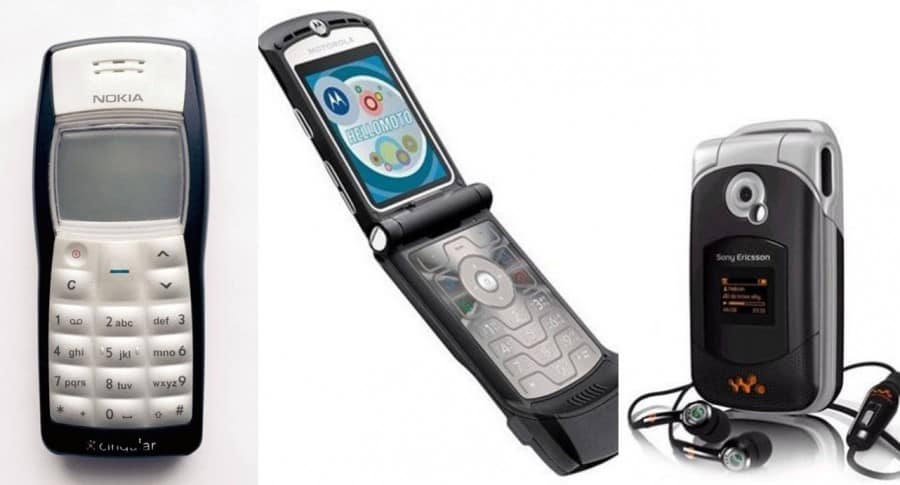 10 celulares que marcaron poca antes de que existieran el