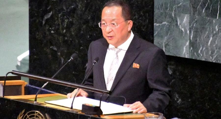 Canciller norcoreano