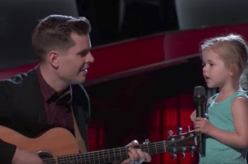 Dave y Claire Crosby en 'The Voice'. Pulzo.
