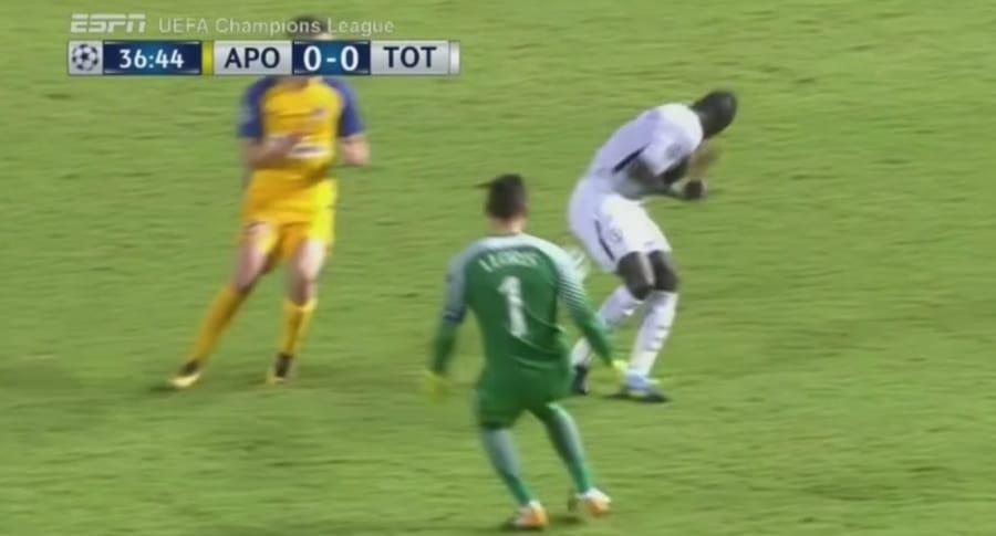 Apoel 0-3 Tottenham