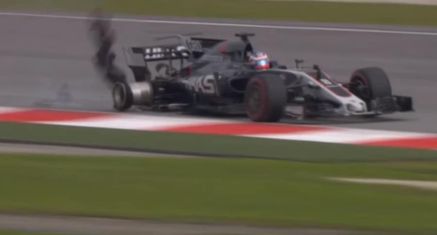 Accidente de Grosjean