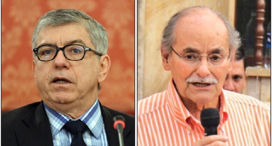 César Gaviria y Horacio Serpa