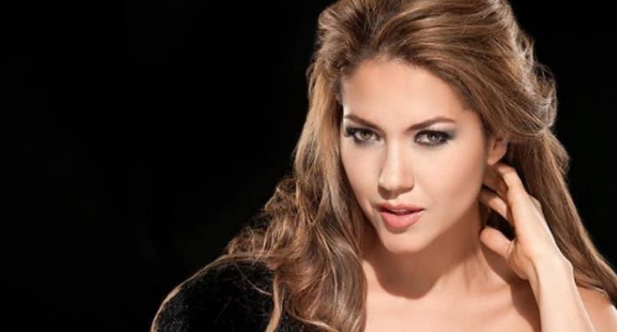 Lina Castrillón, actriz colombiana.