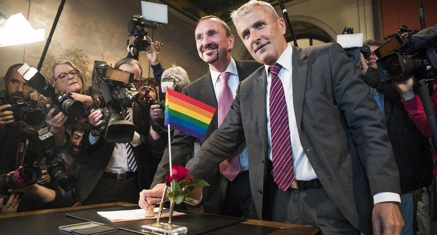 Primer matrimonio gay en Alemania