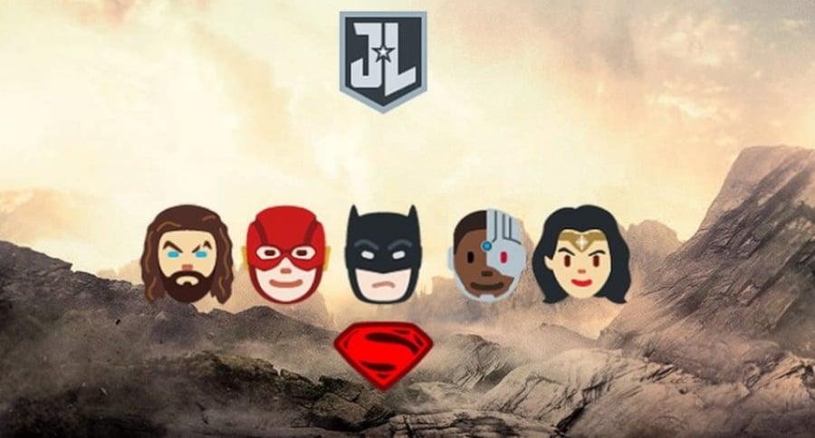 Emojis Liga de la Justicia