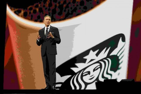 Howard Schultz, director ejecutivo de Starbucks