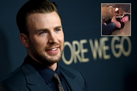 Chris Evans, actor.