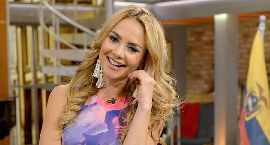 Ximena Córdoba, presentadora.