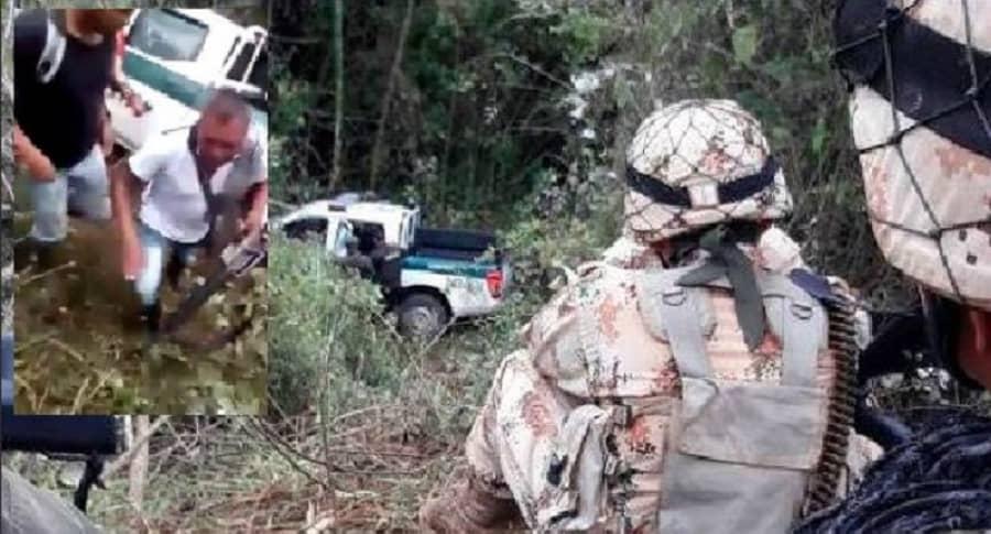Robo de armamento a policías asesinados