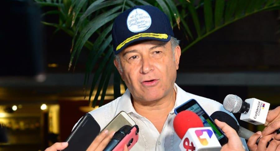 Vicepresidente Óscar Naranjo