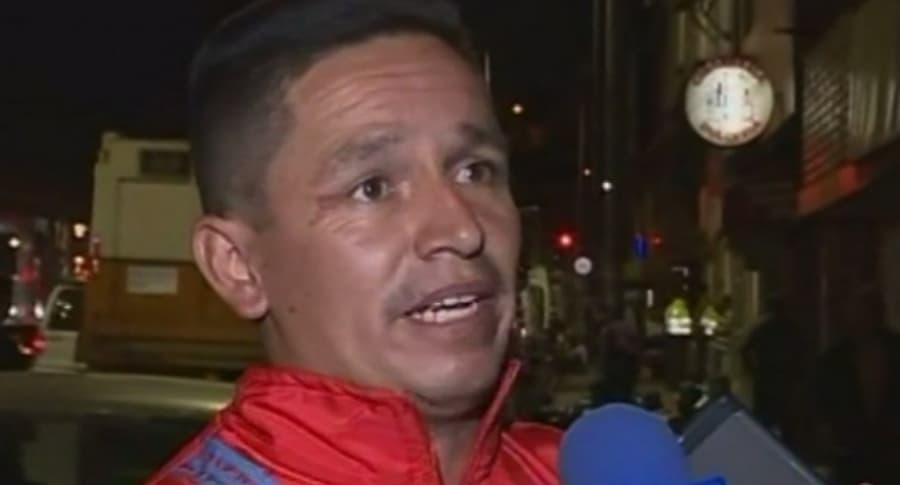 Taxista acusado de agredir a pasajero.