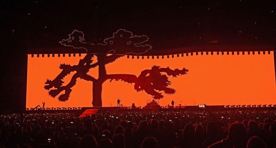 """U2 en su """"Joshua Tree Tour 2017"""""""