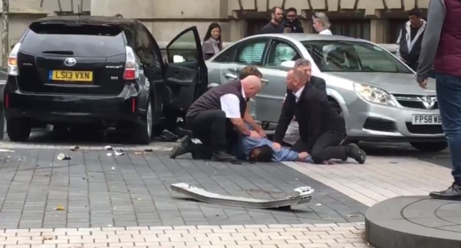 Atropellamiento en Londres