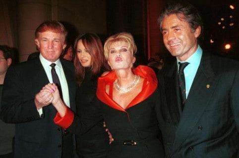 Melania e Ivana Trump