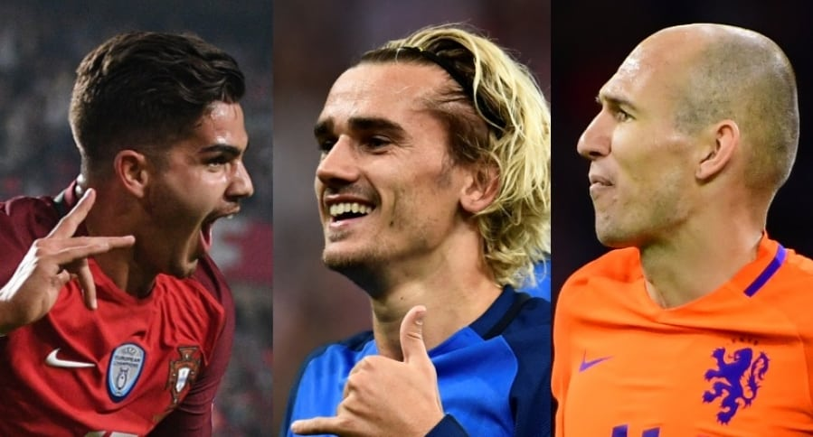 Portugal, Francia y Holanda