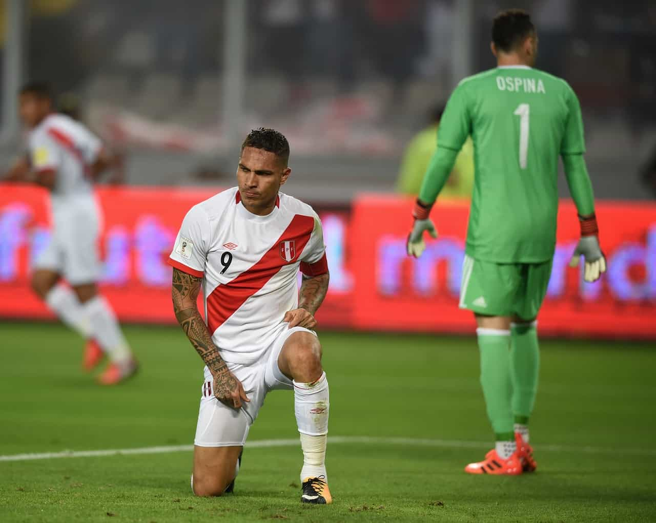 Perú vs Colombia