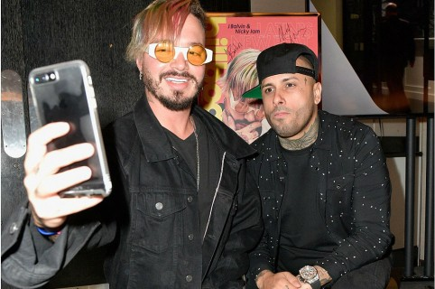 J Balvin y Nicky Jam, cantantes