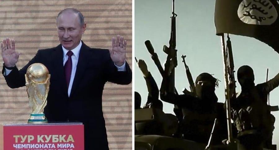 Vladimir Putin y Estado Islámico