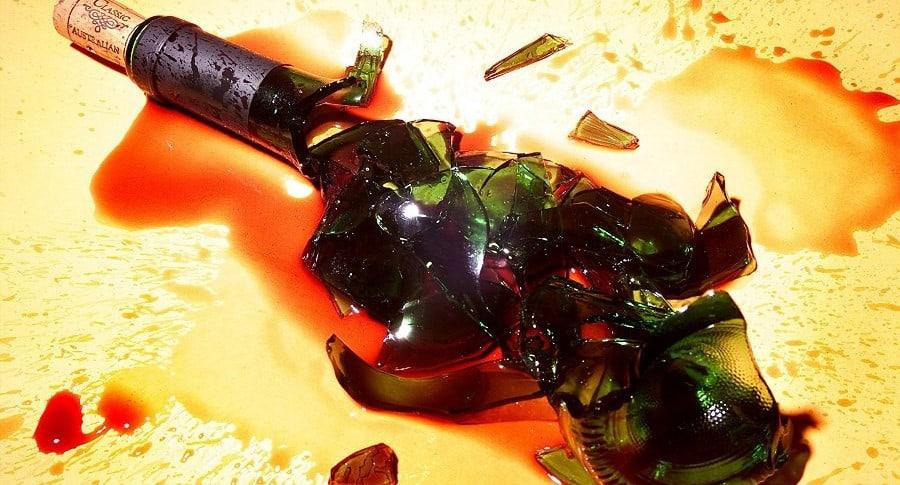 botella, licor, trago